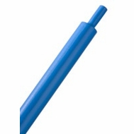 "HeatShrink Tube 1/4"" Blue 3:1 - 1 Foot Length"