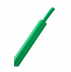 "HeatShrink Tube 1"" Green 3:1 - 1 Foot Length"