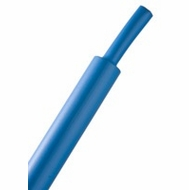 "HeatShrink Tube 3/8"" Blue 2:1 - 1 Foot Length"