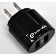 iEssentials IE-ACP-2U 2A Dual USB Wall Charger