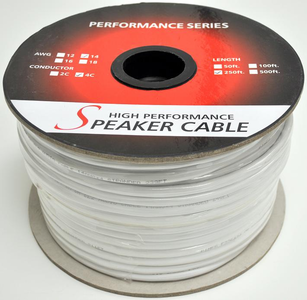 In-Wall Rated Speaker Wire