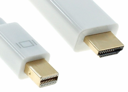 Mini DisplayPort to HDMI Cables