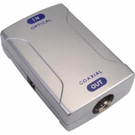 Optical-to-Coaxial Digital Audio Converter