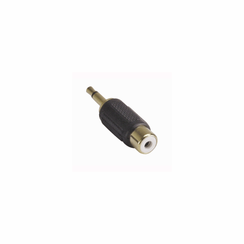 RCA Jack to 3.5mm Mono Plug - Gold Plated