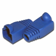 RJ45 Blue Strain Relief Network Cable Boots - Bag of 10 Pieces