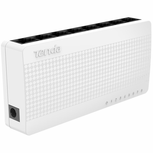 Tenda S108 8 Port 10/100 Desktop Network Switch