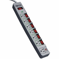 TRIPP LITE TLP76MSG 7-Outlet Eco-Surge™ Surge Protector