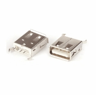 USB Type A Female Dip Type Connector