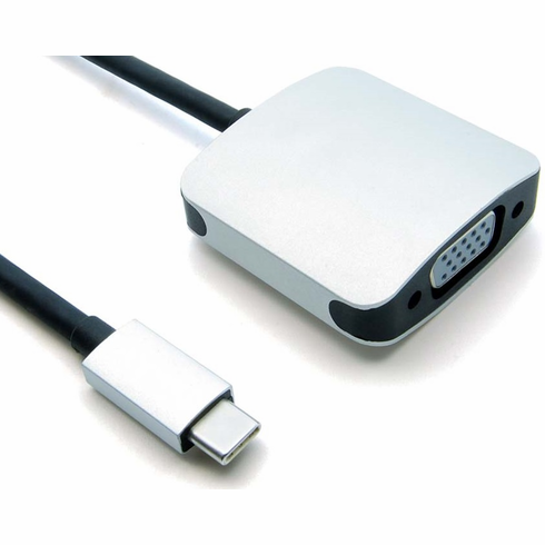 USB Type C Male to VGA Female Adapter Cable