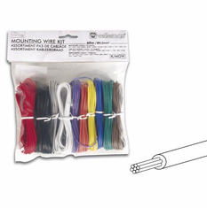 Velleman Package of 24 AWG Stranded Tinned Copper Wire - Assorted colors