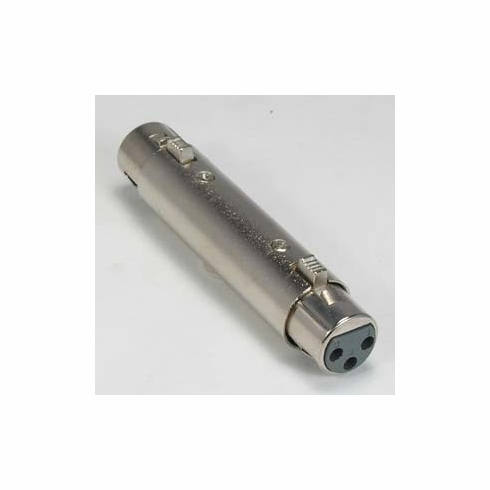 XLR Female/Female Barrel Coupler