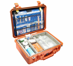 Pelican 1500EMS Case With EMS Organizer/Dividers