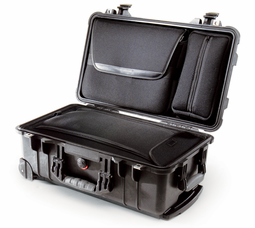 Pelican 1510LOC Carry-On Laptop Overnight Case - BLACK