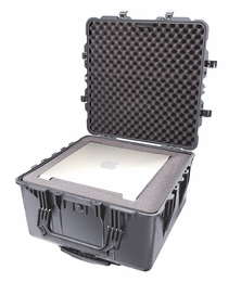 Pelican 1640 Case With Foam  BLACK I.D. 24x24x13.9