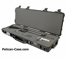 Pelican 1720 Waterproof 42inch Long Gun Rifle Case with Foam - Black - 1720