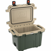 Pelican 50 Quart Cooler Green/Tan 50Q-ODTAN