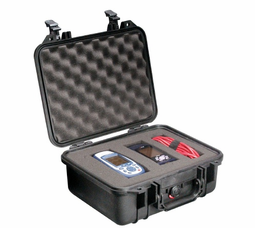 Pelican Case 1400 With Foam - BLACK