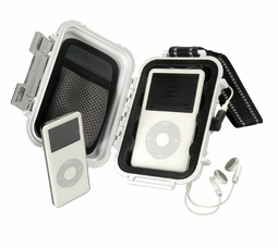 Pelican i1010 MicroCase for the Apple iPod Shuffle and Nano - WHITE