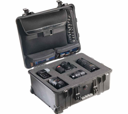 Pelican Mobile Digital Case with Sleeve & Foam - Black - 1560LFC