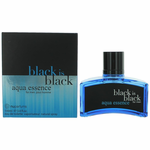 Black is Black Aqua Essence by Nu Parfumes, 3.4 oz Eau De Toilette Spray for Men
