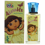Dora The Explorer Adorable by Marmol & Son, 3.4 oz Eau De Toilette Spray for girls