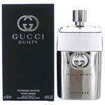 Gucci Guilty Platinum by Gucci, 3 oz Eau De Toilette Spray for Men