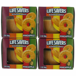 Life Savers Scented Candle 4 Pack of 3 oz Jars - Pineapple