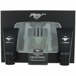 Mustang Black by Mustang, 3 Piece Gift Set for Men