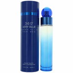 Perry Ellis 360'  Very Blue by Perry Ellis, 3.4 oz Eau De Toilette Spray for Men