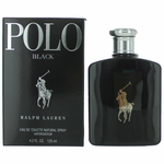 Polo Black by Ralph Lauren, 4.2 oz Eau De Toilette Spray for Men