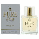 Pure D'or by Karen Low, 3.4 oz Eau De Parfum Spray for Women