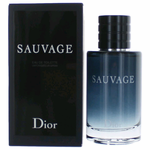 Sauvage by Christian Dior, 3.4 oz Eau De Toilette Spray for Men