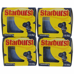 Starburst Scented Candle 4 Pack of 3 oz Jars - Blueberry