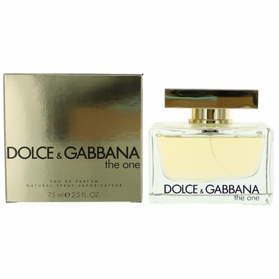 c5299a98 T starting with The One by Dolce & Gabbana, 2.5 oz Eau De Parfum Spray for  Women