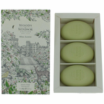 Woods of Windsor White Jasmin by Woods of Windsor, 3 X 2.1 oz Luxury Soap for Women