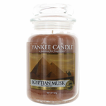 Yankee Candle Scented 22 oz Large Jar Candle - Egyptian Musk