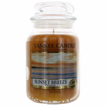 Yankee Candle Scented 22 oz Large Jar Candle - Sunset Breeze