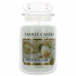 Yankee Candle Scented 22 oz Large Jar Candle - Wedding Day