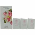 Yardley English Rose by Yardley of London, 3 x 3.5 oz Luxury Soap for Women