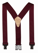 "2"" Burgundy Original Perry Suspenders - 54"""