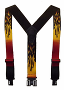 "2"" Flames Original Perry Suspenders - 48"""