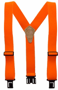 "2"" Orange Original Perry Suspenders - 54"""