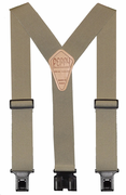 "2"" Tan Original Perry Suspenders - 54"""
