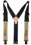 "2"" World's Best Dad Ad-on Perry Suspenders - 48"""