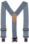 Denim Blue Original Perry Suspenders - 54""