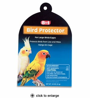 8in1 Bird Protector For Large Birds/Cages