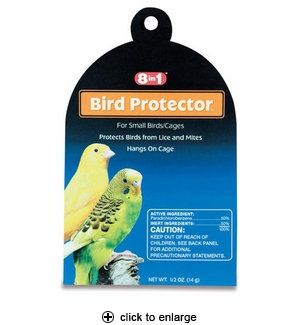 8in1 Bird Protector For Small Birds/Cages