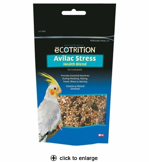 8in1 Ecotrition Avilac Stress Supplement for Cockatiels 7 oz.