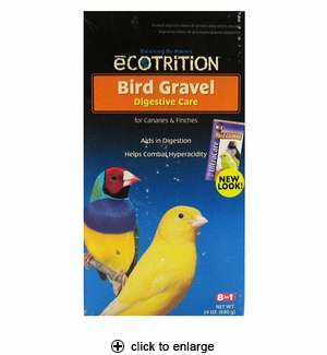 8in1 Ecotrition Bird Gravel for Canaries & Finches 24 oz