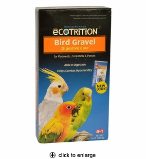 8in1 Ecotrition Bird Gravel for Parakeets, Cockatiels & Parrots 24oz